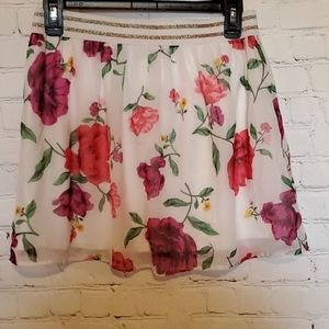 Old Navy Girl's Floral Size 14 Skirt